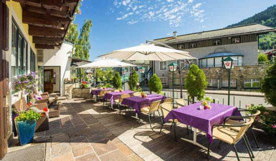 Terrasse der Kaiserstub'n - Restaurant in Flachau, Salzburger Land
